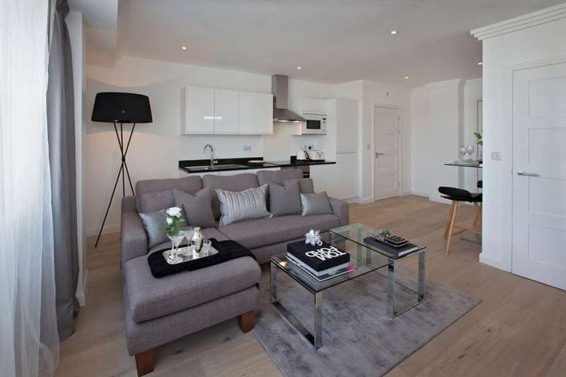 1 Bedroom Flat for sale in Nine Sutton Court Road, Sutton, SM1