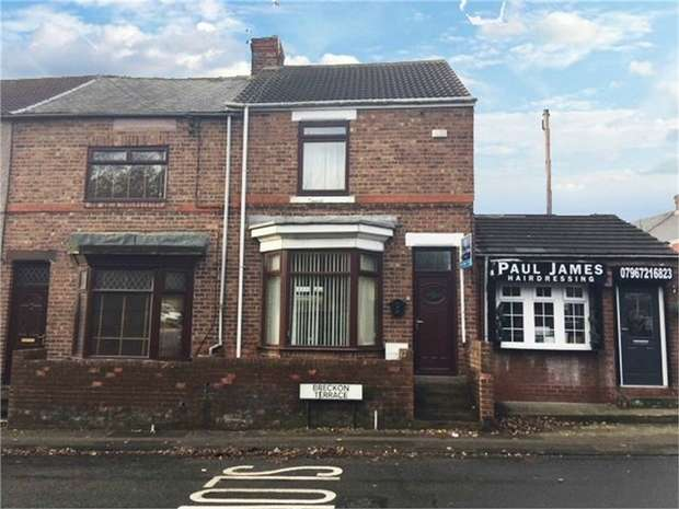 3 Bedrooms End Of Terrace House for sale in Breckon Terrace, Fishburn, Stockton-on-Tees, Durham