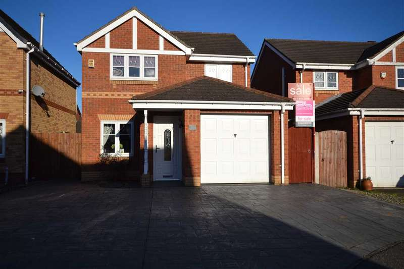3 Bedrooms Detached House for sale in Carville Grove, Hindley