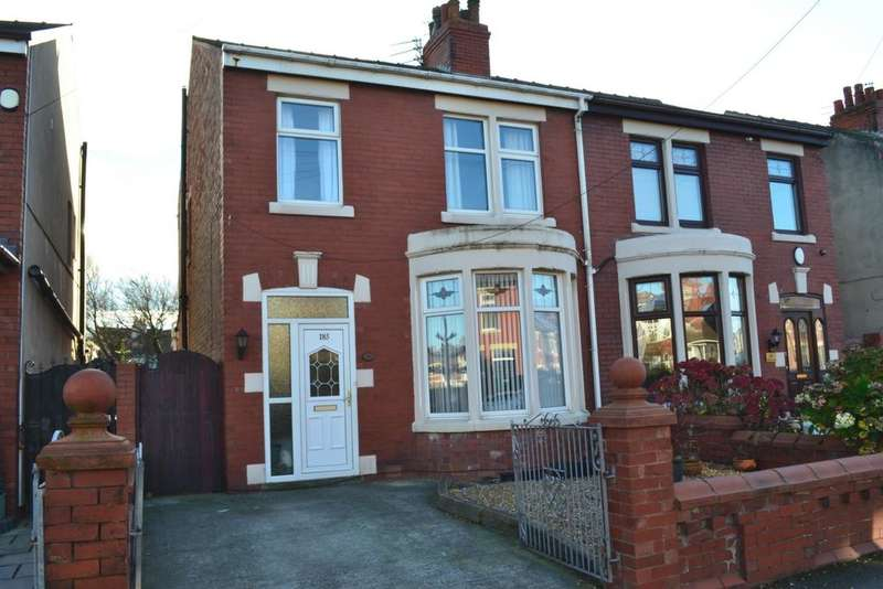 3 Bedrooms Semi Detached House for sale in Westmorland Avenue, Blackpool, FY1