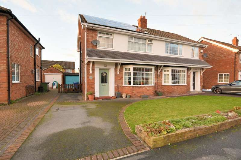 3 Bedrooms Semi Detached House for sale in Musbury Avenue, Cheadle Hulme, Stockport, SK8 7AT