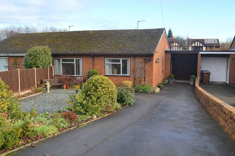 3 Bedrooms Semi Detached Bungalow for sale in Lichfield Road, Armitage