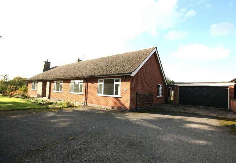 4 Bedrooms Detached Bungalow for rent in Hoby Road, Ragdale, MELTON MOWBRAY