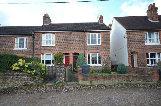 3 Bedrooms End Of Terrace House for sale in Heathcote Close, Church Path, Ash Vale