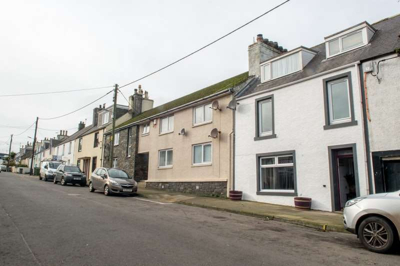 4 Bedrooms Terraced House for sale in Mill Street, Drummore,Stranraer, Dumfries and Galloway, DG9