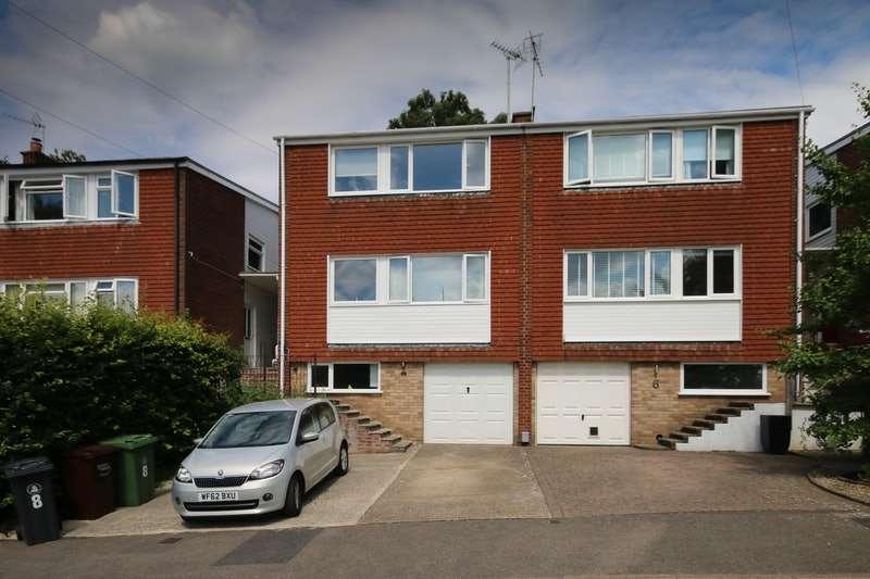 4 Bedrooms Semi Detached House for sale in Connop Way, Frimley, Surrey, GU16