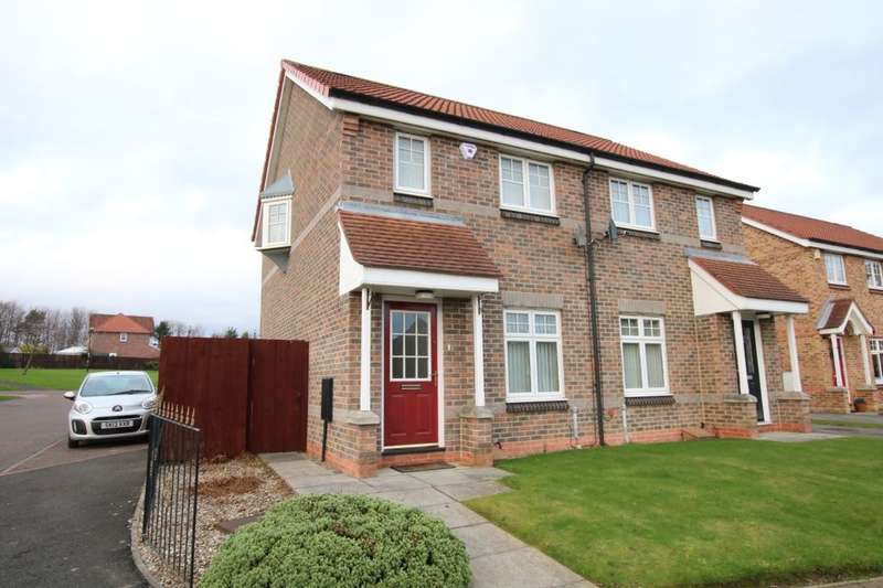 2 Bedrooms Semi Detached House for sale in Penyghent Way, Washington, NE37