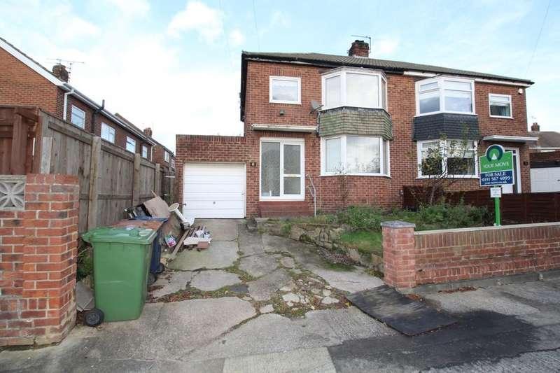 3 Bedrooms Semi Detached House for sale in Broadmayne Gardens, Barnes, Sunderland, SR4