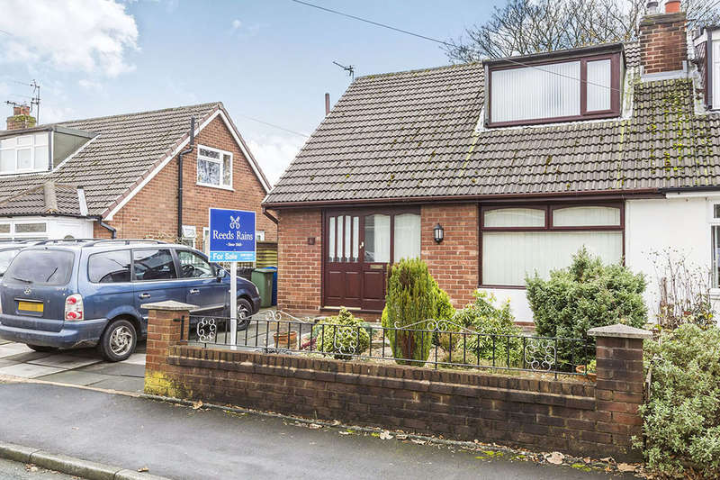 2 Bedrooms Semi Detached Bungalow for sale in Fern Close, Shevington, Wigan, WN6