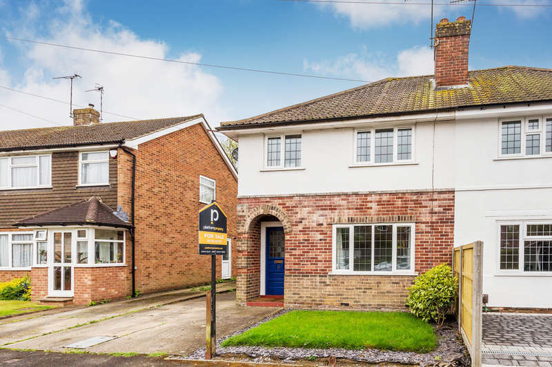 3 Bedrooms Semi Detached House for sale in Westways, Edenbridge, TN8