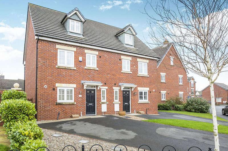 4 Bedrooms Semi Detached House for sale in Hampshire Avenue, Buckshaw Village, Chorley, PR7