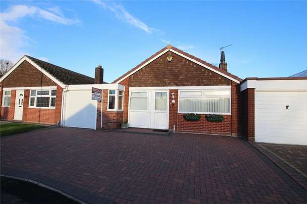 2 Bedrooms Terraced Bungalow for sale in Darwin Close, Lichfield, Staffordshire