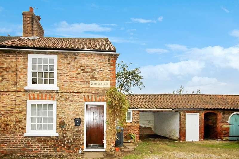 2 Bedrooms Cottage House for sale in Drury Lane, Helperby, York YO61 2PJ