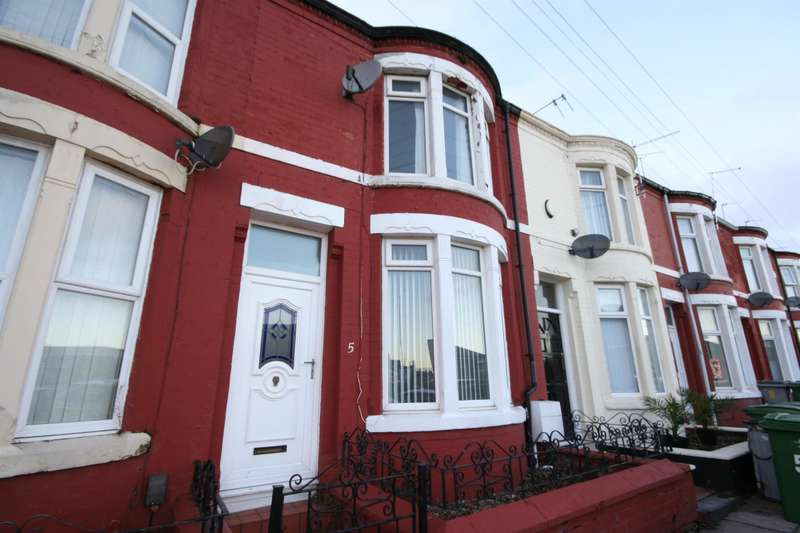 2 Bedrooms Terraced House for sale in Park Road, Wallasey, CH44 9EA