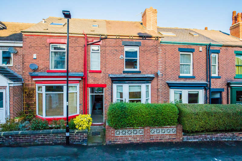 3 Bedrooms Terraced House for sale in 46 Stainton Road, Endcliffe Park, S11 7AX