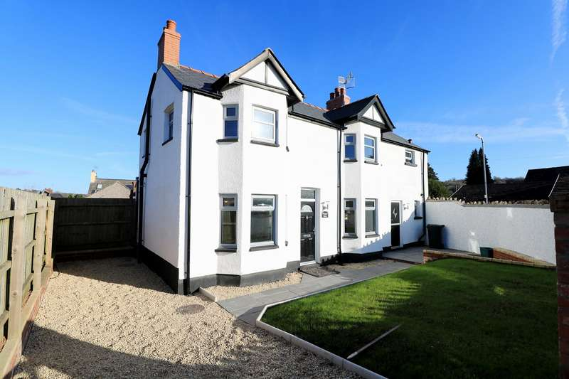 3 Bedrooms Link Detached House for sale in Cross Street, Caerleon, Newport, NP18