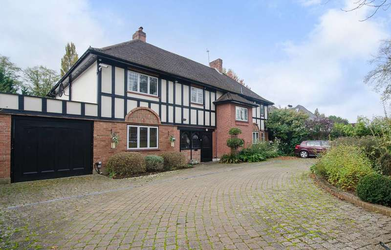 5 Bedrooms Detached House for sale in The Avenue, Hatch End, HA5