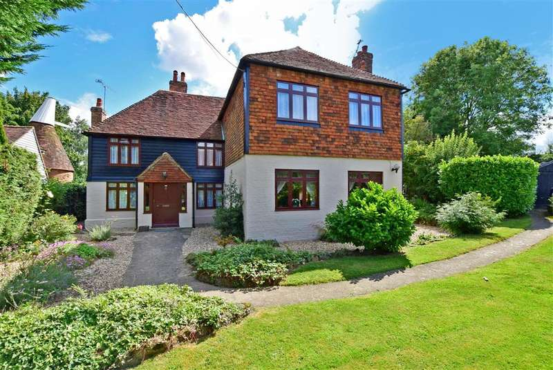 4 Bedrooms Detached House for sale in Goudhurst Road, , Marden, Kent