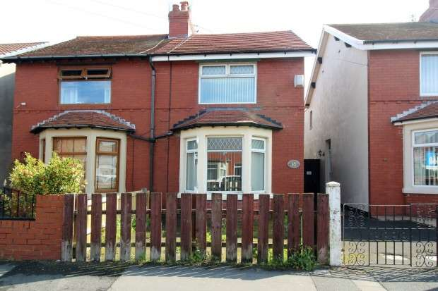 3 Bedrooms Semi Detached House for sale in Abercrombie Road, Fleetwood, FY7
