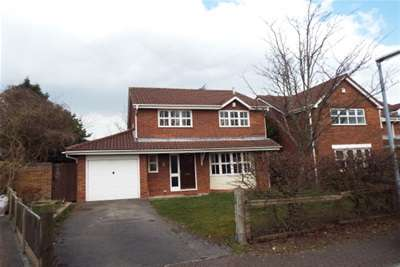 4 Bedrooms Detached House for rent in Castle Green, Westbrook, WA5
