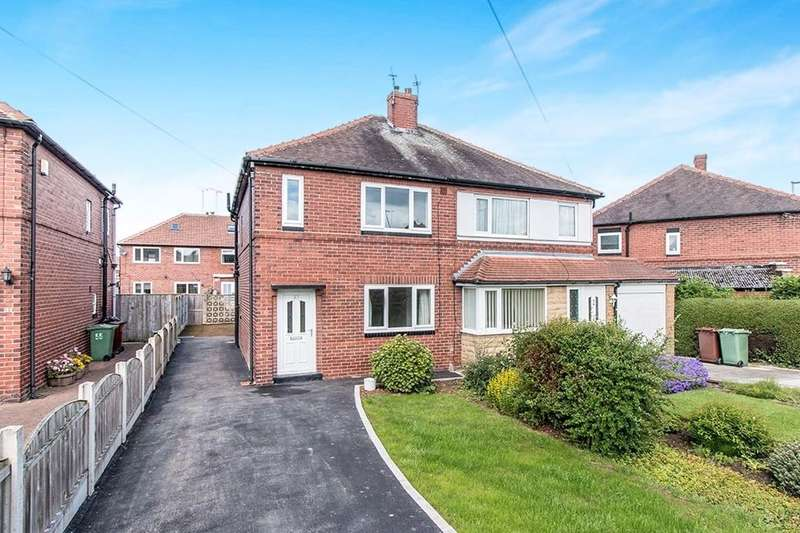 3 Bedrooms Semi Detached House for sale in Kelmscott Avenue, Leeds, LS15