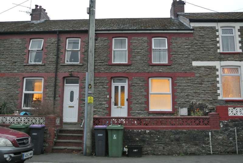 3 Bedrooms Terraced House for sale in Springfield Terrace, Pontnewynydd, Pontypool, NP4