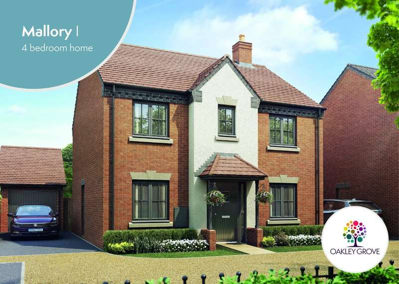 4 Bedrooms Detached House for sale in Plot 83 Mallory I Oakley Grove