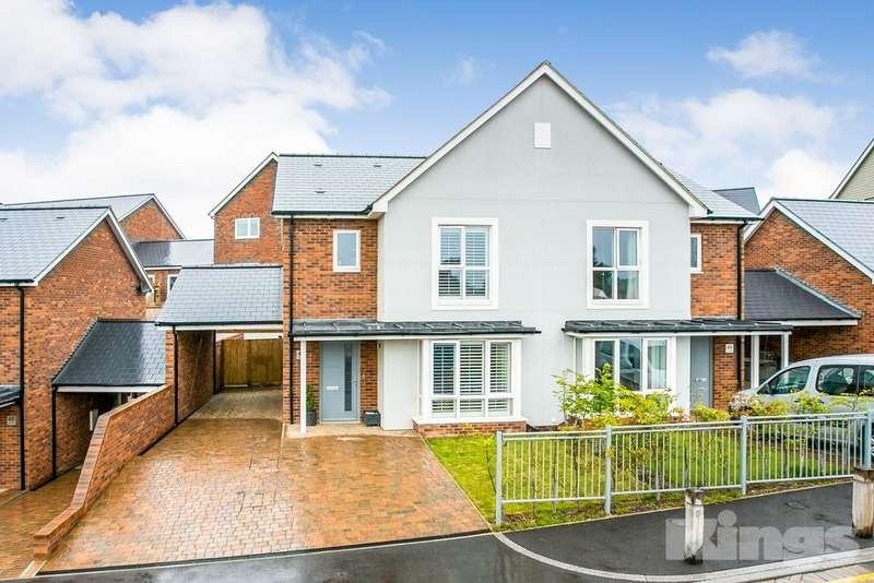 3 Bedrooms Semi Detached House for sale in The Avenue, Knights Park, Tunbridge Wells