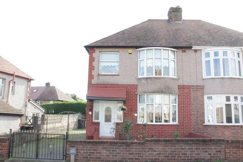3 Bedrooms Semi Detached House for sale in Queens Avenue, Flint, Flintshire, CH6