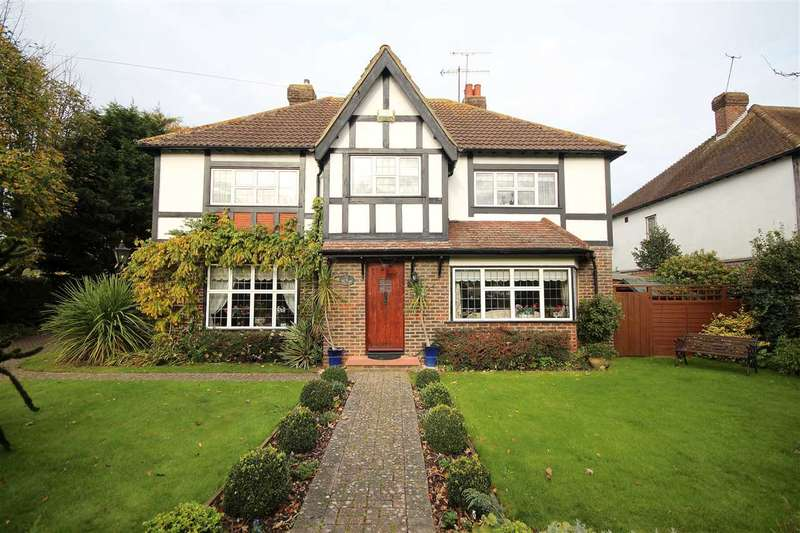 4 Bedrooms Detached House for sale in Upper Brighton Road, Charmendean, BN14