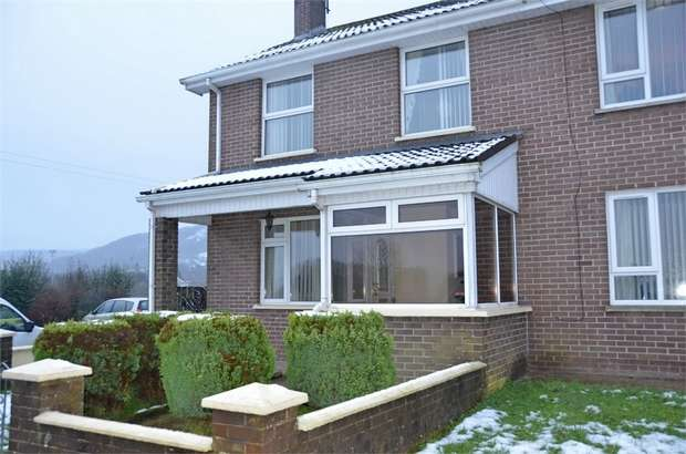 3 Bedrooms Semi Detached House for sale in Beltrim Crescent, Gortin, Omagh, County Tyrone