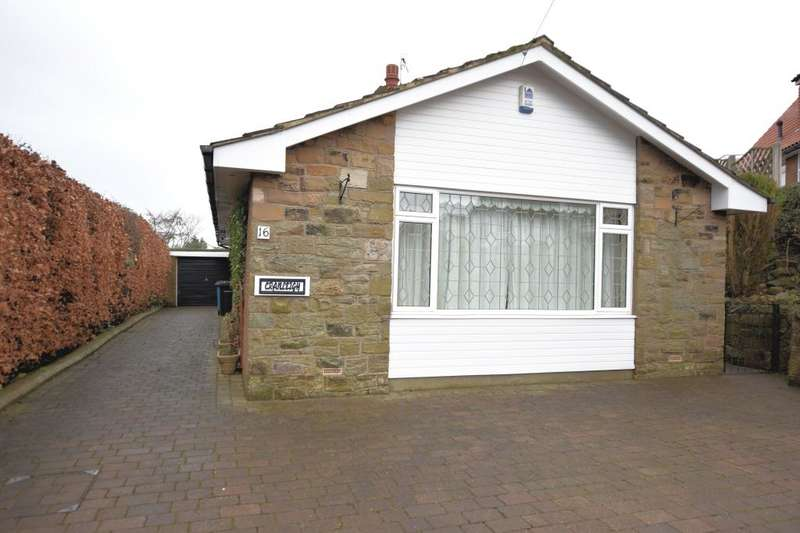 2 Bedrooms Detached Bungalow for sale in Woods Grove, Burniston, Scarborough, North Yorkshire YO13 0JD