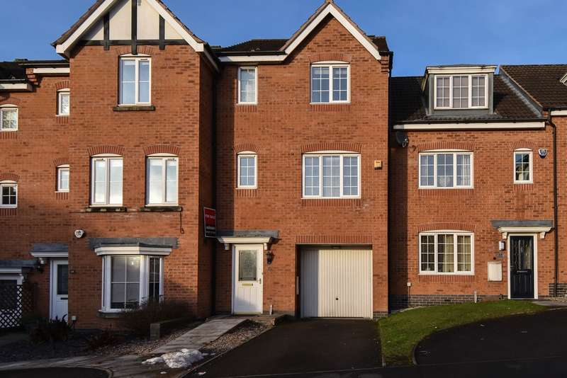 4 Bedrooms Town House for sale in Marlgrove Court, Marlbrook, Bromsgrove, B61