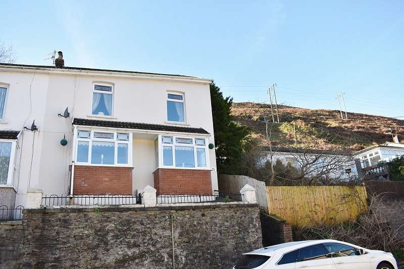 3 Bedrooms Semi Detached House for sale in Vale View, Ogmore Vale, Bridgend. CF32 7DP