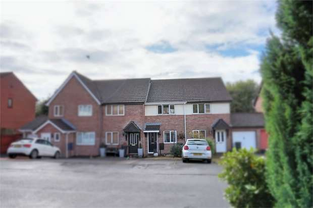 2 Bedrooms Terraced House for sale in Priory Court, Bryncoch, Neath, West Glamorgan
