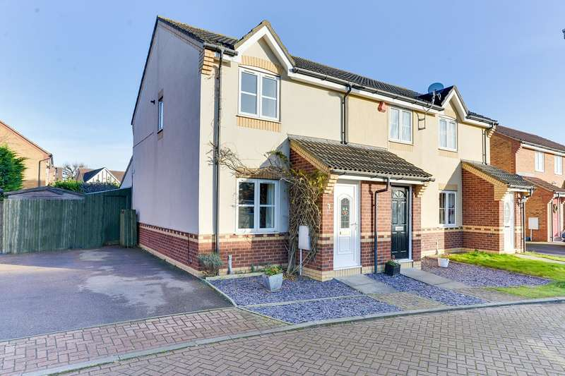 2 Bedrooms End Of Terrace House for sale in Kefford Close, Bassingbourn, Royston, SG8
