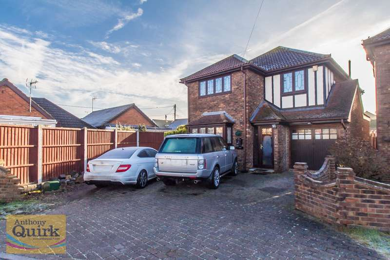 4 Bedrooms Detached House for sale in Waarden Road, Canvey Island, SS8