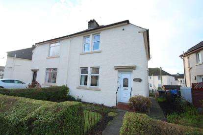 2 Bedrooms Semi Detached House for sale in Princess Crescent, Paisley