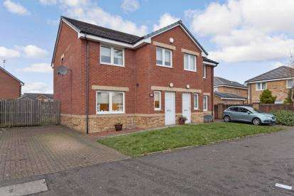 3 Bedrooms Semi Detached House for sale in Craigmuir Road, Glasgow