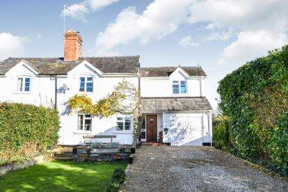 3 Bedrooms Semi Detached House for sale in Church Road, Aston Somerville, Broadway, Worcestershire
