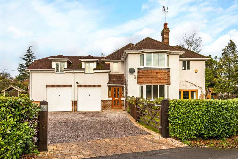 5 Bedrooms Detached House for sale in Main Road, Littleton, Winchester, Hampshire, SO22
