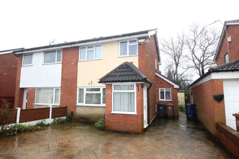 3 Bedrooms Semi Detached House for sale in Fir Trees Avenue, Lostock Hall, Preston, PR5