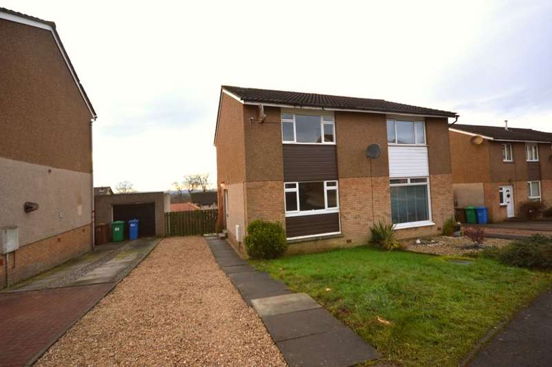 2 Bedrooms Semi Detached House for sale in Carnbee Place, Dunfermline, KY12