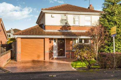 4 Bedrooms Detached House for sale in Healaugh Way, Chesterfield, Derbyshire