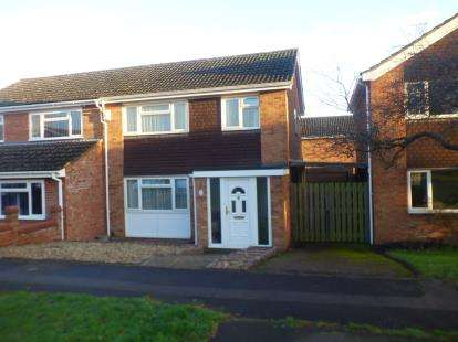 3 Bedrooms Semi Detached House for sale in Kiteleys Green, Leighton Buzzard, Bedford, Bedfordshire