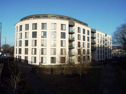 2 Bedrooms Flat for sale in St. James Walk, Honeybourne Way, Cheltenham, Gloucestershire