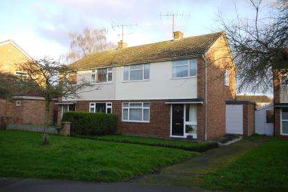 3 Bedrooms Semi Detached House for sale in Sweeting Avenue, Little Paxton, St. Neots, Cambridgeshire