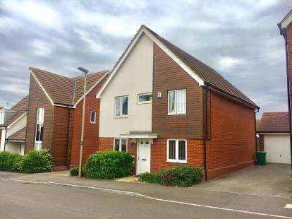 4 Bedrooms Detached House for sale in Corfe Meadows, Broughton, Milton Keynes, Buckinghamshire
