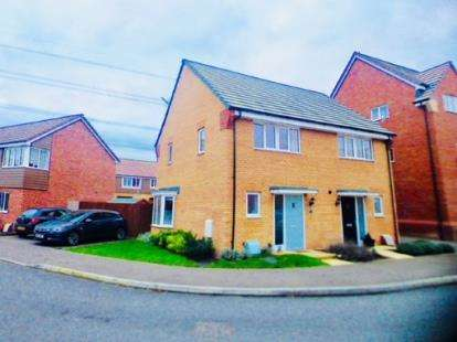 2 Bedrooms Semi Detached House for sale in Fieldfare, Leighton Buzzard, Bedfordshire, Bedfordshire