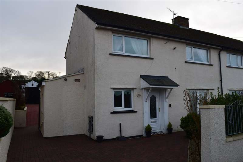 3 Bedrooms Semi Detached House for sale in Greengarth, Great Clifton, Workington